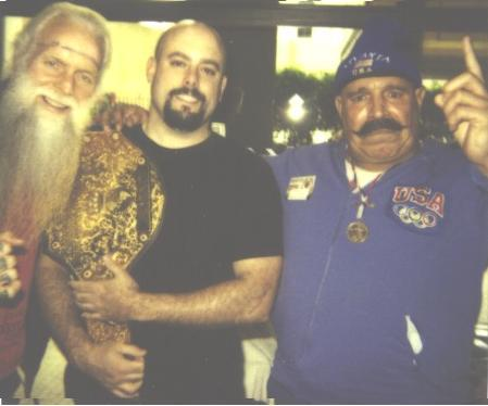 Jimmy Valiant and the Iron Sheik mistake me for the booker!