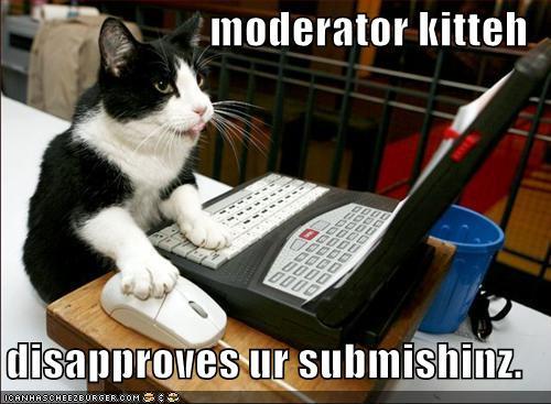 moderator kitteh