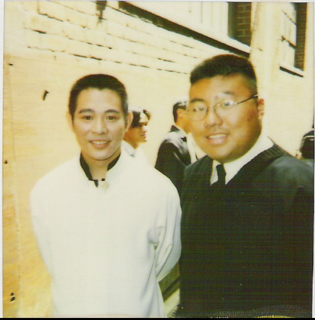 Photo Me And Jet Li On The Set Of Lethal Weapon 4 1998 In The Album Hapkido Kali Mma By Musashi036 Martialtalk Com Friendly Martial Arts Forum Community