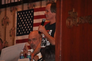 Judges giving their comments regarding Belt Tests at Jeff Speakman's 2010 Training Camp