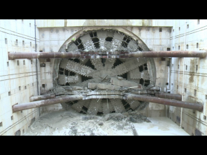 Bertha boring machine